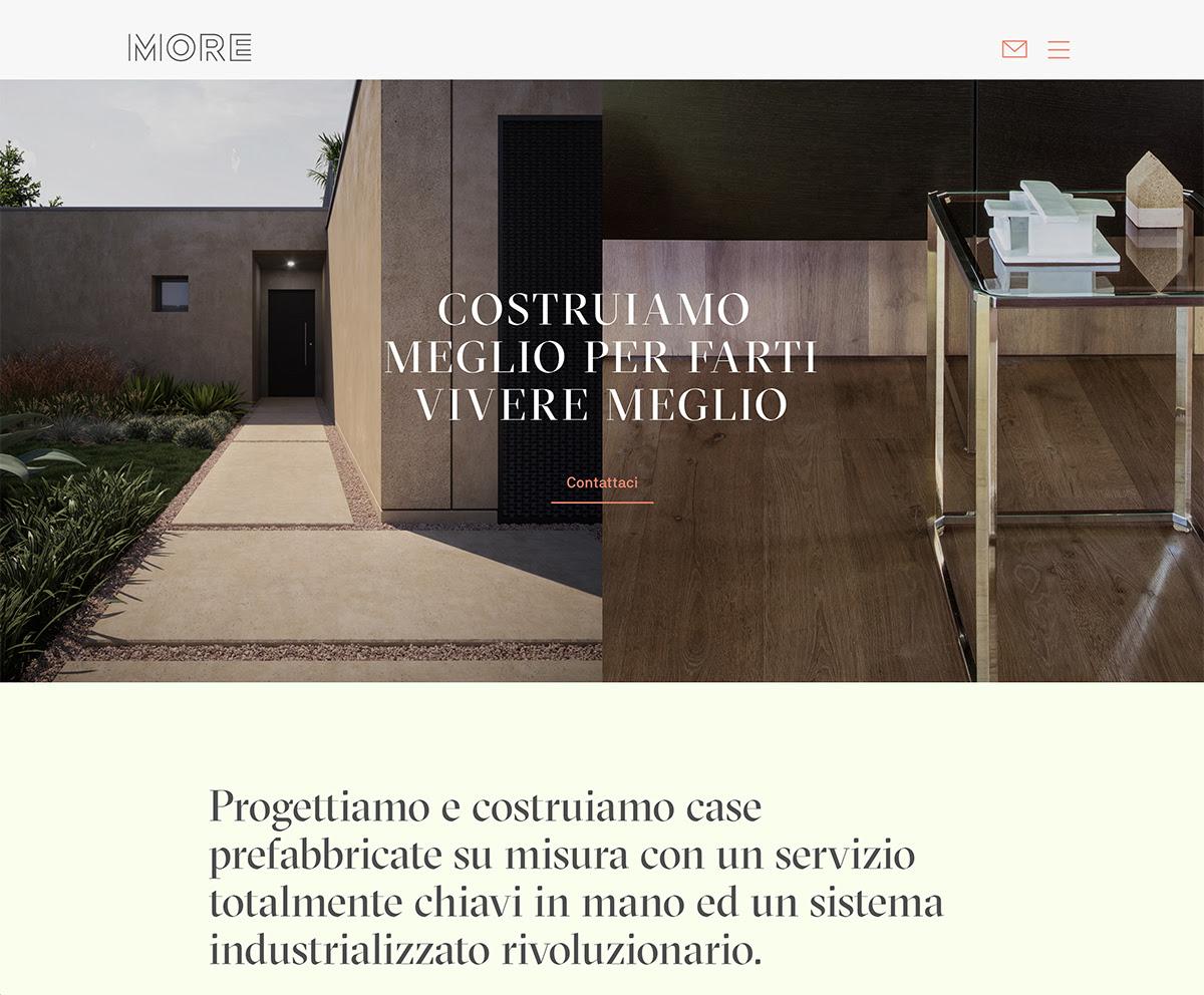 Case Prefabbricate Su Misura More Gruppo Moretti S P A